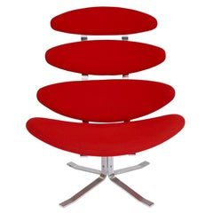 Corona Chair by Poul Volther