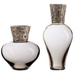 Corona Diadema Vases Gray
