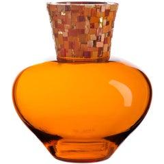 Corona Orange Vase