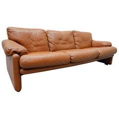 Coronado Three-Seat Sofa by Tobia Scarpa for B&B Italia, 1960s