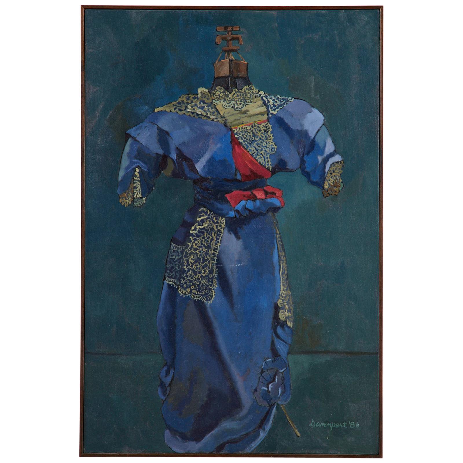 Coronation by Jill Davenport Oil on Canvas, 1986