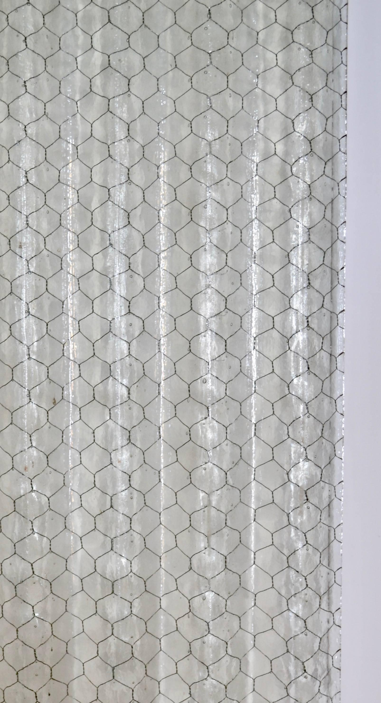 Old Fashioned Hammered Chicken Wire Glass Embellishment - Electrical ...