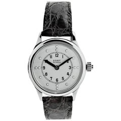 Cort Chromium Hunters Case Blind Persons Watch with Flawless Enamel Dial