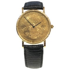 Corum $20 Gold Coin Automatic Wristwatch