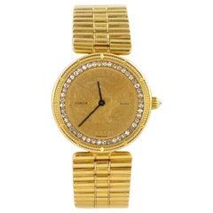 Corum $5 Gold Coin Ladies Eagle Watch with Inner Diamond Bezel