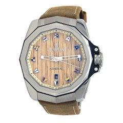 Corum Admiral 45 Titanium Date Display Automatic Men's Watch A082/03473