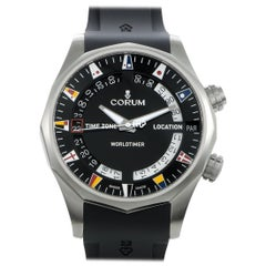 Corum Admiral Legend 47 Worldtimer Watch A637/02744 - 637.101.04/F371 AN02