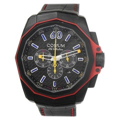 Corum Admiral's Cup 132.211.95/0F01 ANVE, Black Dial, Certified
