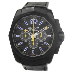 Corum Admiral's Cup 132.211.95, Black Dial, Certified and Warranty