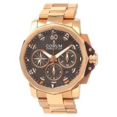 Corum Admiral's Cup 18 Karat Rose Gold Men's Watch Automatic 60723.205005