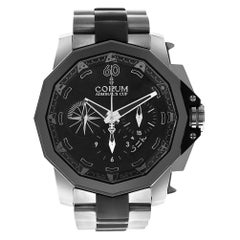 Corum Admiral's Cup 277.931.06/0371/AN12, Black Dial, Certified