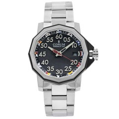 Corum Admirals Cup Black Arabic Dial Automatic Men's Watch A082/03375
