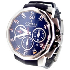 Corum Admiral's Cup Challenger Black Automatic Chronograph Watch