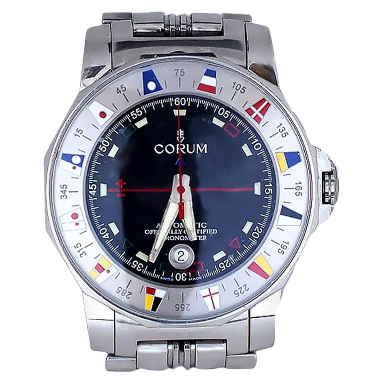 Corum Admirals Cup Chronometer Black Face, Watch For Sale