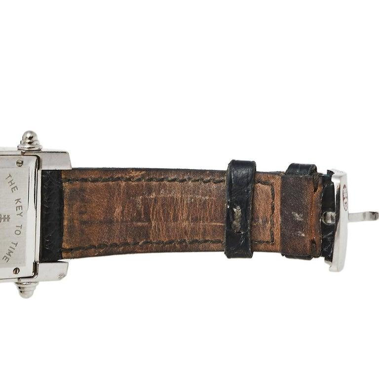 Corum Black 18K White Gold Diamond Pave Moonlight Women's Wristwatch 25 In Good Condition For Sale In Dubai, Al Qouz 2