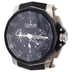 CORUM Black Titanium Admiral's Cup Chronograph 48 Automatic Watch