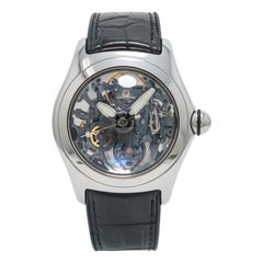 Corum Bubble 082.130.20, Silver Dial, Certified and Warranty