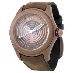 Corum Bubble 082.311.98, Case, Certified and Warranty