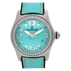 Corum Bubble 39.151.47, Blue Dial, Certified and Warranty