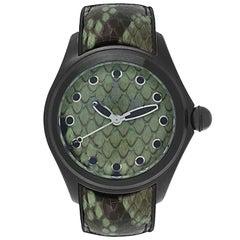 Corum Bubble 42 Python PVD Coated Automatic Watch 082.410.98/0337 PV01