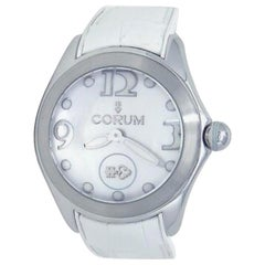 Corum Bubble 42 White L295/03049, Mother of Pearl Dial