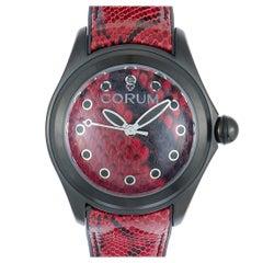 Corum Bubble 47 Red Python Watch L082/02981, 082.310.98/0335 PR01