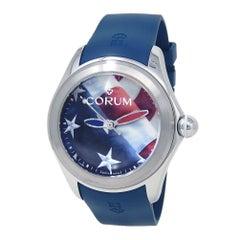 Corum Bubble 47 US Flag Stainless Steel Automatic Men's Watch L082/03263