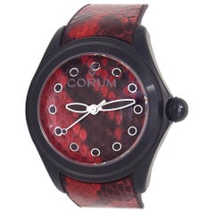 Corum Bubble L082/02981, Red Dial, Certified and Warranty
