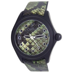 Corum Bubble L082/03192, Green Dial, Certified and Warranty