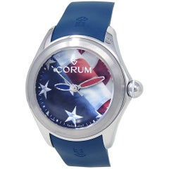 Corum Bubble L082/03263, Blue Dial, Certified and Warranty