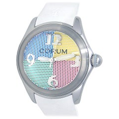 Corum Bubble L082/03298, White Dial, Certified and Warranty