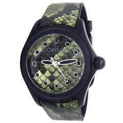 Corum Bubble L137/03602, Green Dial, Certified and Warranty