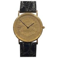 Corum Classic $20 U.S. Gold Coin Quartz Watch