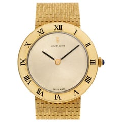 Corum Classic 57104-100593, Gold Dial, Certified and Warranty