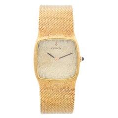 Corum Classique 18 Karat Yellow Gold Watch