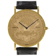 Corum Coin 1876, Case, Certified and Warranty