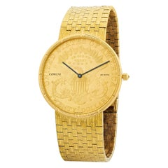 Corum Double Eagle Gold Coin Watch