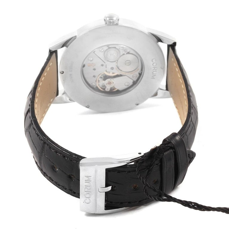 Corum Heritage Silver Dial Steel Men's Watch V157/02614 For Sale 2