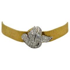 Corum Linz Swiss Made Pave Diamond Lid Ladies Bracelet Watch
