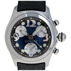Corum Men's Bubble Watch, Stainless Steel Quartz 2 Year Warranty 396.250.20