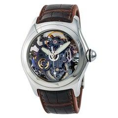 Corum Skeleton Bubble 082.150.20 Men's Automatic Watch Skeleton Dial