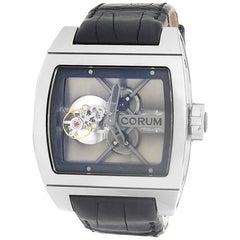 Corum Ti-Bridge 022.700.04/0F01 0000, Silver Dial, Certified &