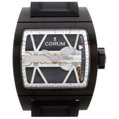 Corum Ti-Bridge 50056, White Dial, Certified and Warranty
