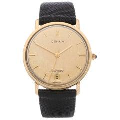 Corum Vintage ETA 2824 3adj Men's Yellow Gold Watch