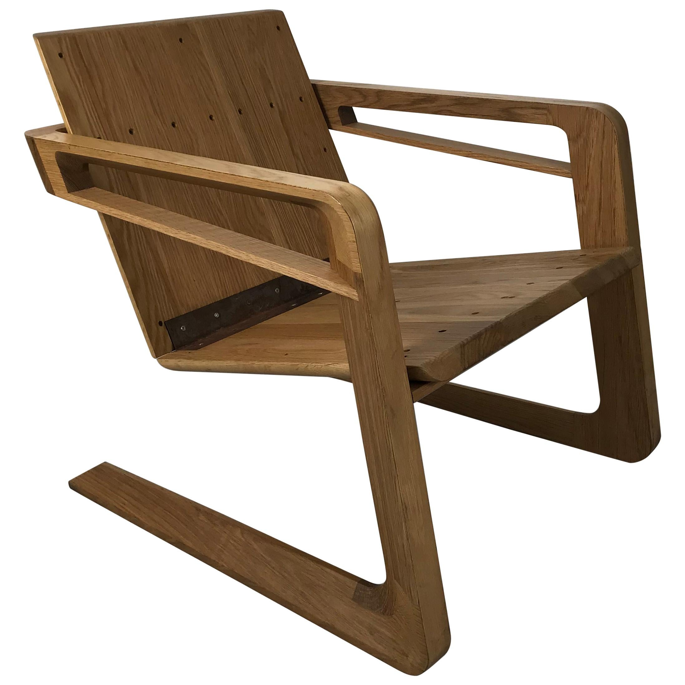 Cory Grosser 009 Airline Chair, After Famed 1934 Airline Chair by Kem Weber