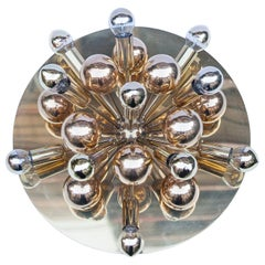 Cosack Sputnik Golden Brass Wall Ceiling Lamp