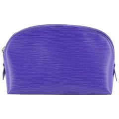 Cosmetic Pouch Epi Leather