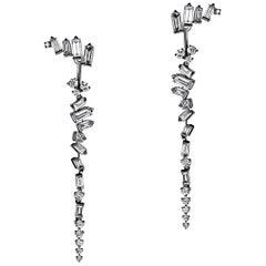 Cosmic Diamond Drop Earrings