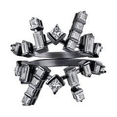 Cosmic Diamond Stack Rings