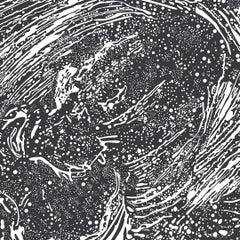Cosmic Splash Designer Wallpaper in Color Galaxy 'White on Matte Black'